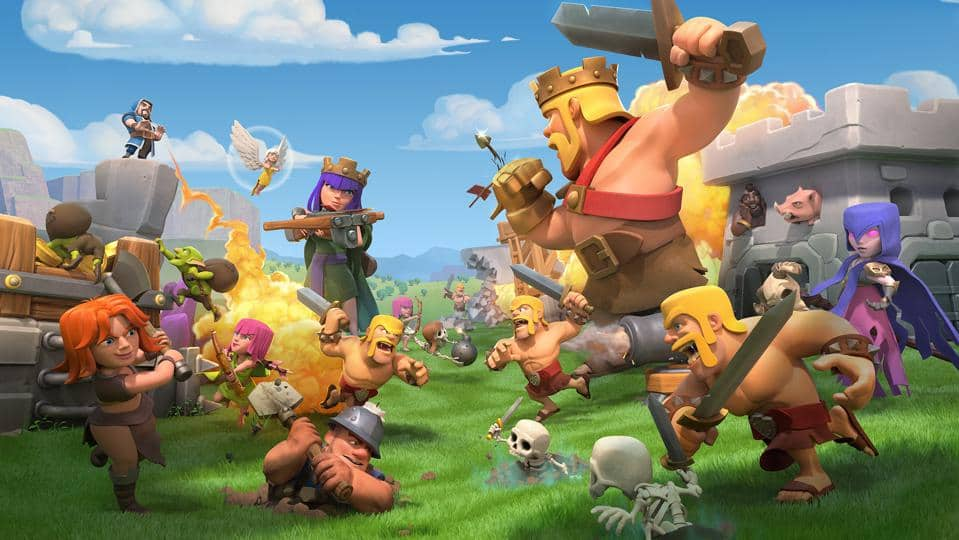 clash of clans mod apk download unlimited everything